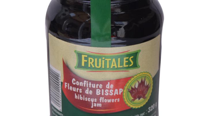 Confiture de fleurs de bissap