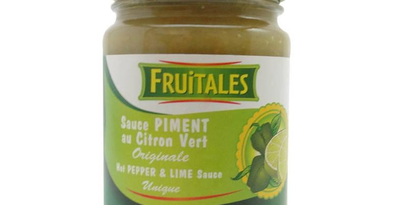 Sauce piment citron vert