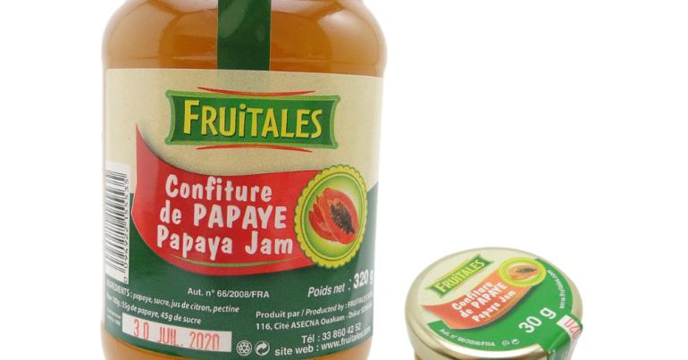 Confiture de papaye