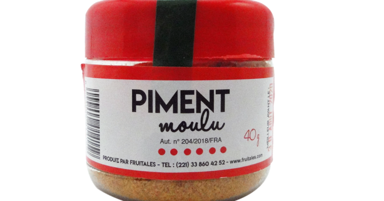 Piment sec moulu