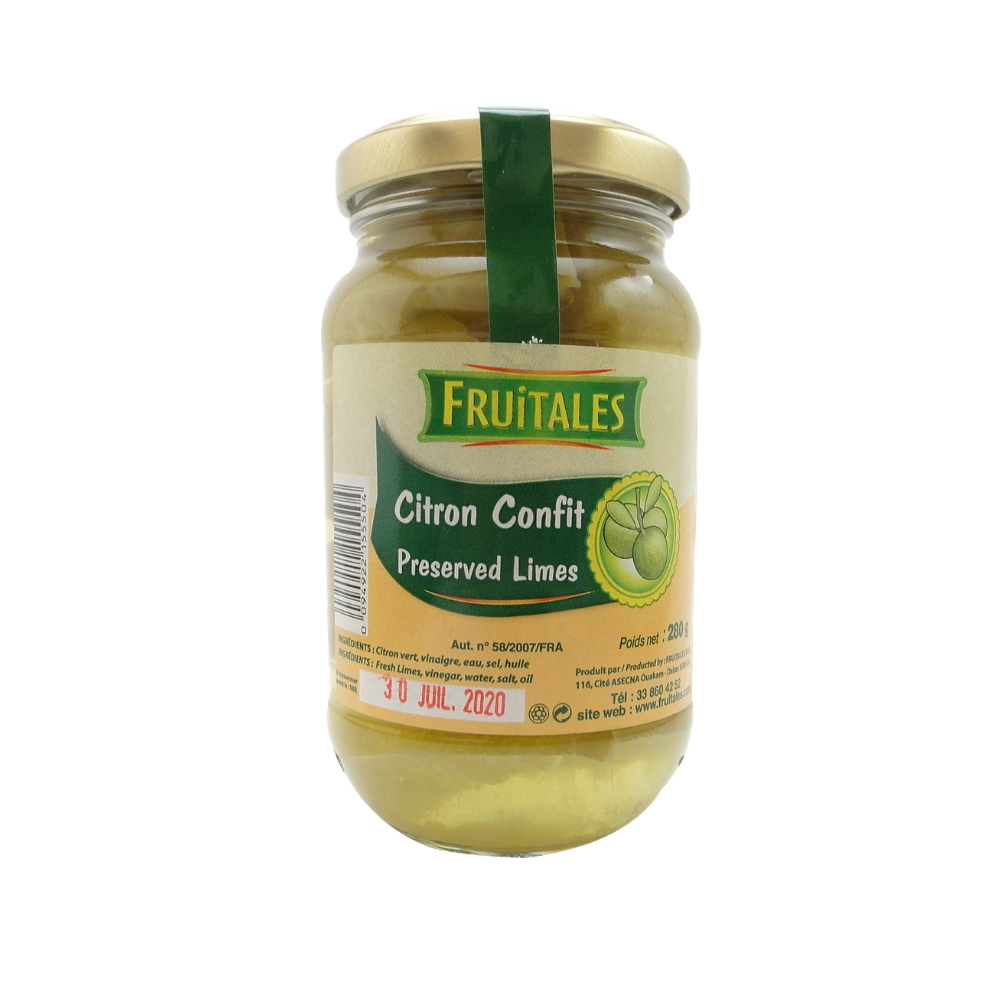 Le  citron confit : comment l'utiliser ?